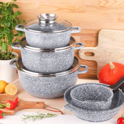 Cookware set 8pcs EB-8012