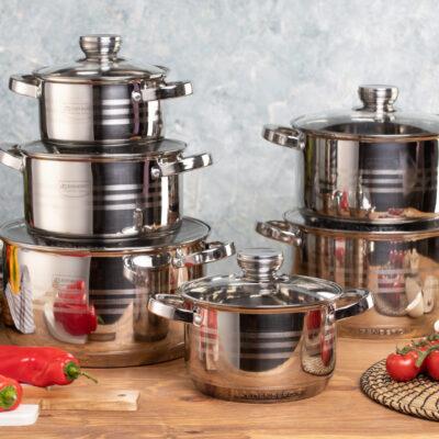 Cookware set 12pcs EB-4036