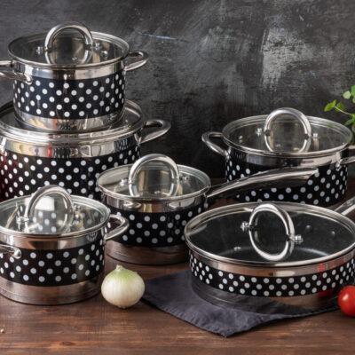 Cookware set 12pcs EB-4056