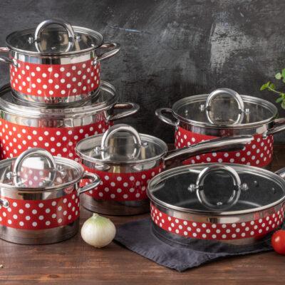 Cookware set 12pcs EB-4055