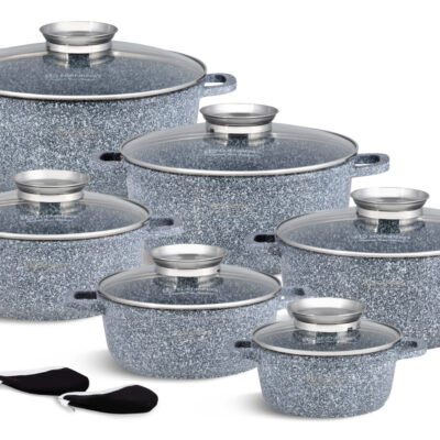 Cookware set stone