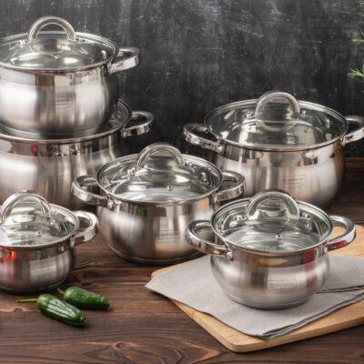 Cookware set 12pcs EB-4065