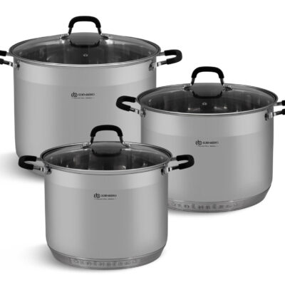 Cookware set steel
