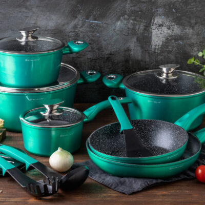 Cookware set with kitchen tools 15pcs EB-5623