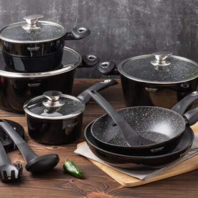 Cookware set with kitchen tools 15pcs EB-5611