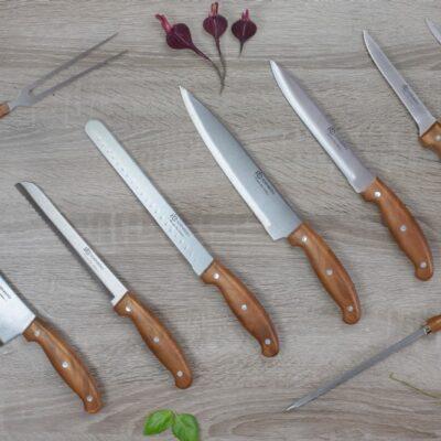 Knife set in a case 9pcs EB-9085