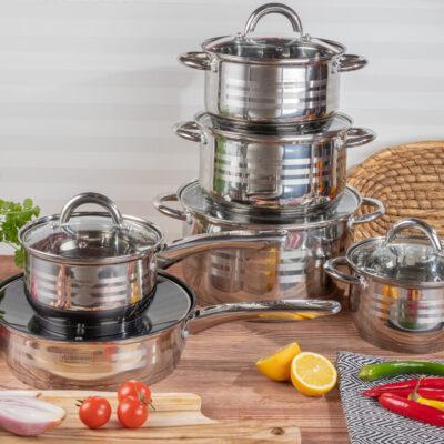 Cookware set 12pcs EB-4006