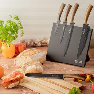 Knife set with magnetic block 6pcs EB-964