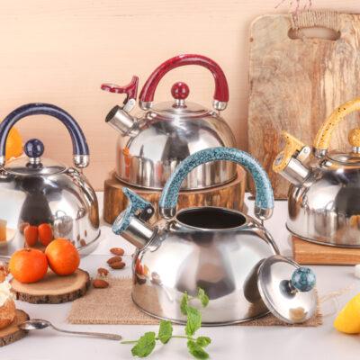 Whistling kettle 2.5l EB-326C